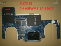 main dell alienware m17x la-6601p